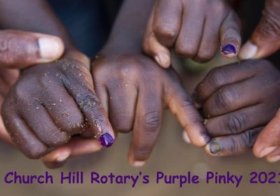 Purple Pinky for Polio